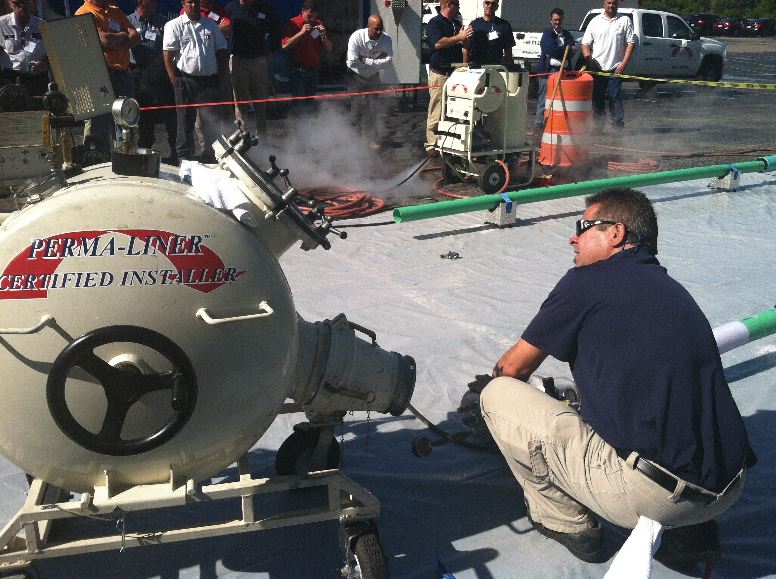 All over the Ohio state many contractors are turning trenchless!